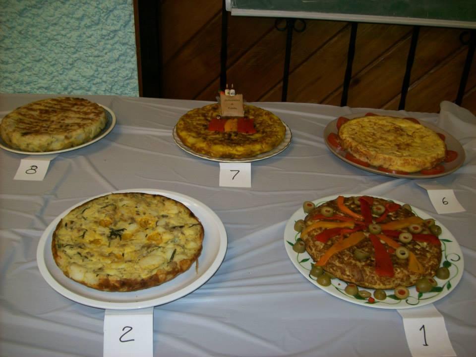 Tortilla y Vino